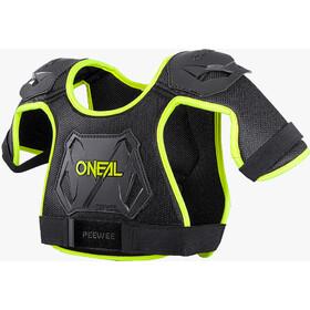 O'Neal Peewee Chest Guard Kids neon yellow